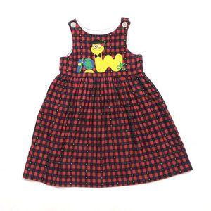 Kelly's Kids Bookworm Dress Sz 4R